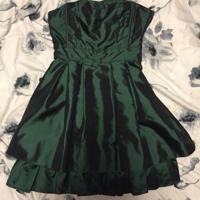 Semi-Formal dress (dark green-size 2)