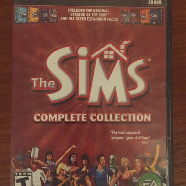 Sims Complete Collection for PC