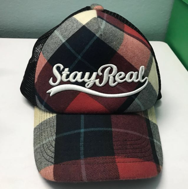 a6dce649 Stay Real Cap from Taiwan, Men's Fashion, Accessories, Caps & Hats ...