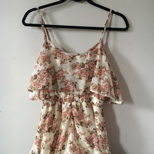 Streetwear Society / Small Floral Maxi Dress