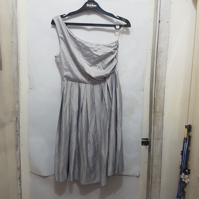 [SUBSIDI ONGKIR IDR 10.000] Body&Soul Grey Dress