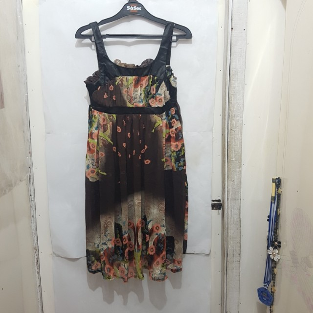 [SUBSIDI ONGKIR IDR 10.000] K&J Flower Dress