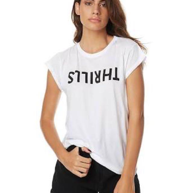 THRILLS White Tshirt