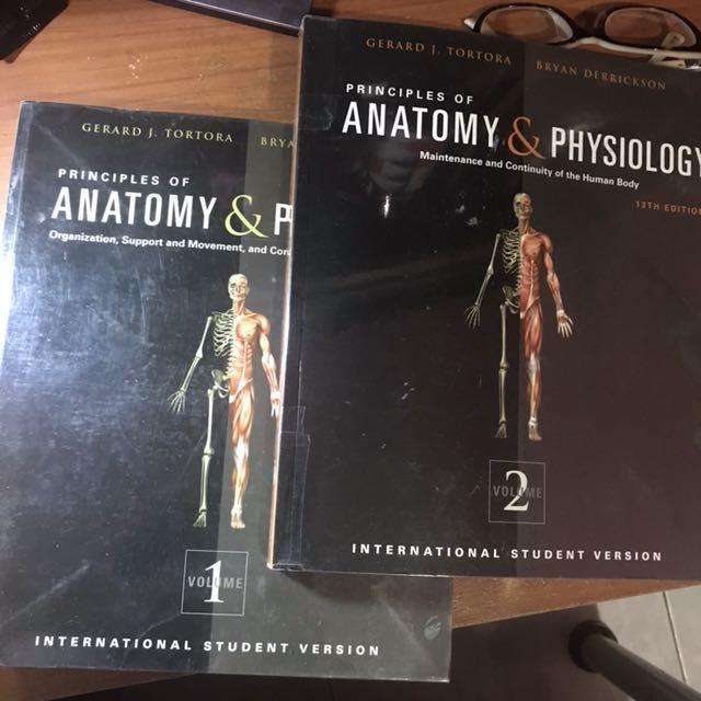 Tortora\'s Anatomy and Physiology V1 & V2, Textbooks on Carousell