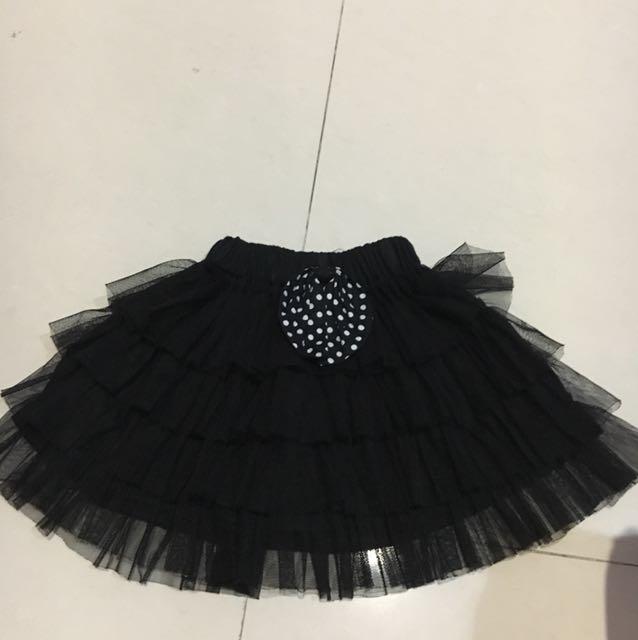 tutu skirts black for 1 thn