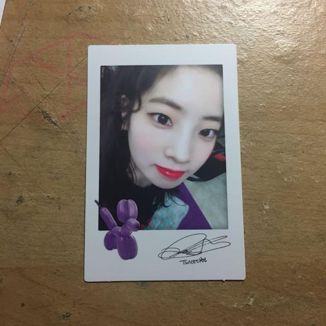 Twice Likey Dahyun Polaroid