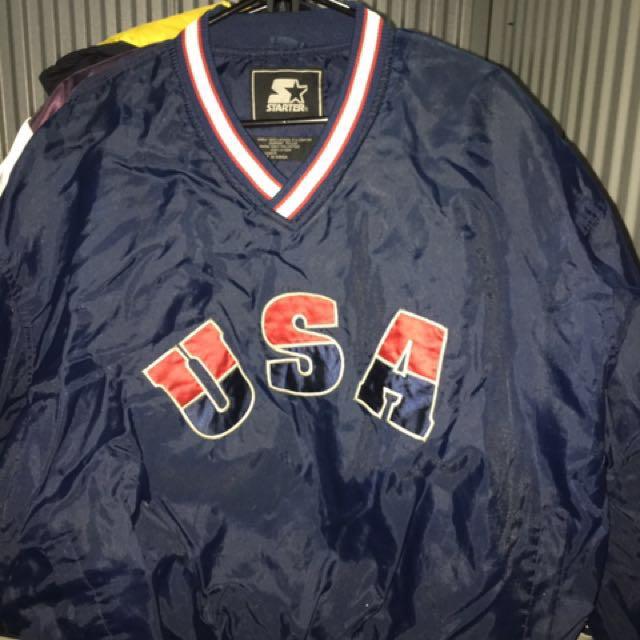 USA starter jacket