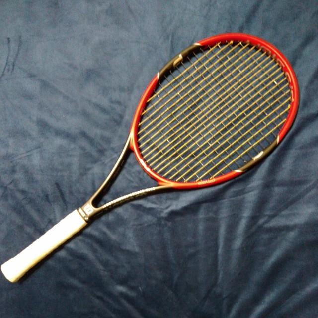 Wilson pro staff 97LS費德勒設計款網球拍