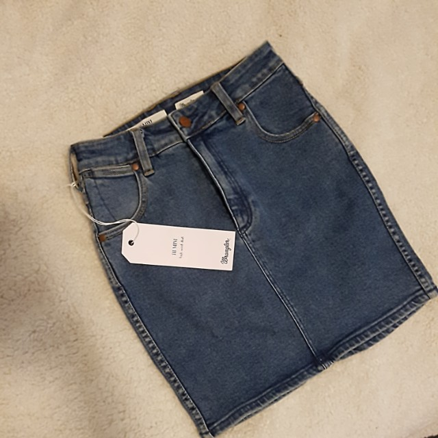 Wrangler | denim skirt | 7
