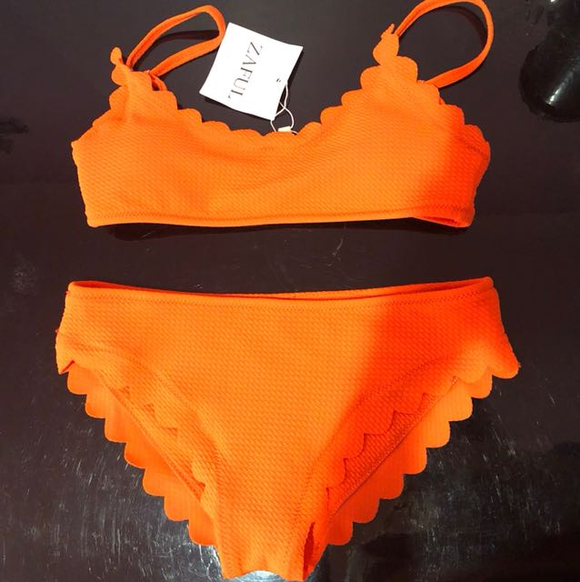 Zaful orange bikini