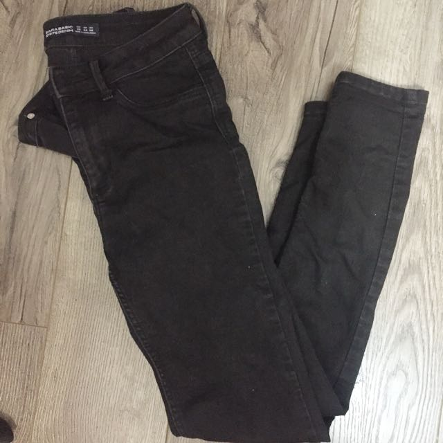 Zara basic denim