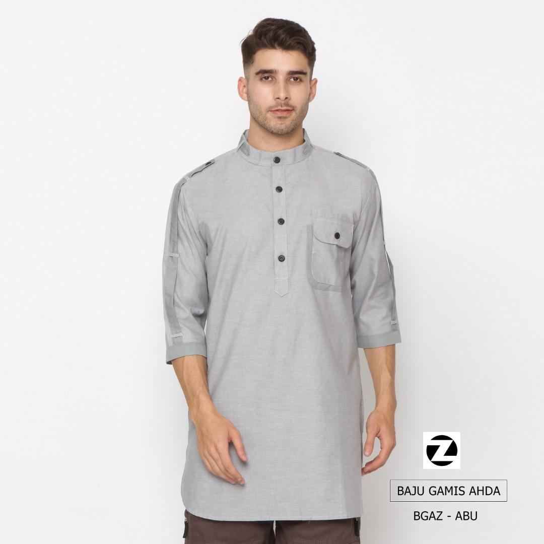Zayidan Baju Gamis Muslim Ahda Abu Olshop Fashion Cottonink Miranka Navy M On Carousell