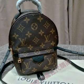 全配 LV Mini backpack PALM SPRINGS