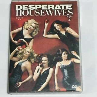 9DVD•30% OFF GREAT CNY SALE {DVD, VCD & CD} DESPERATE HOUSEWIVES SEASON 2, THE COMPLETE SECOND SEASON 絶望的主婦 第二季 - 9DVD