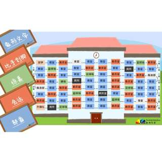 CHINESE BOARD GAME - Let's Go to School!