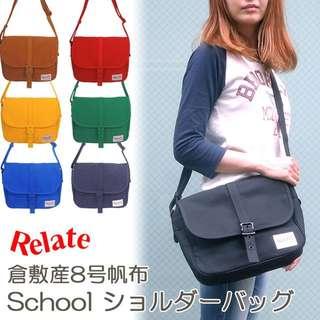 日本制 Relate 肩袋