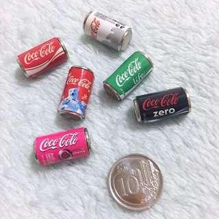 Miniature Dollhouse Collectible DIY Mini Coca Cola - Coco Colo