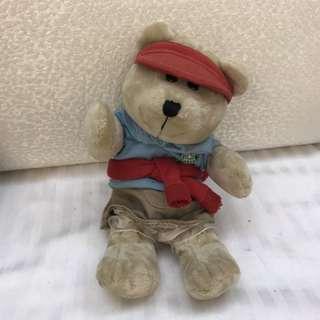 星巴克工作熊