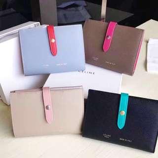 (新年買新銀包🎉) Celine strap wallet