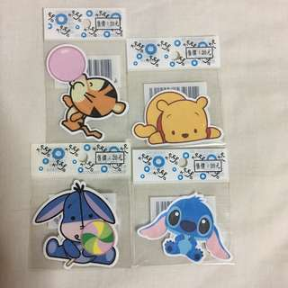 Water-Resistant Disney Stickers