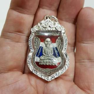 Luang Pu Thuad in Silver Casing. Details of the amulet will be updated accordingly.