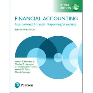 Financial Accounting International Financial Reporting Standards 11th Global edition