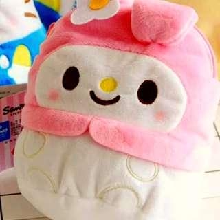 日本新款My Melody收纳包手機袋
