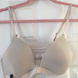 Beautiful Wireless Taupe Bra - 34B