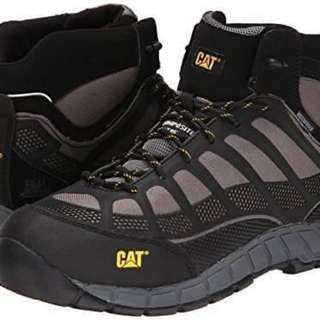 Sepatu Safety Caterpillar Streamline Mid CT Waterproof Grey Original