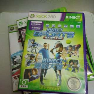 Xbox360 KINECT SPORTS 季節2