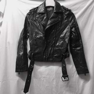Blues Heroes 皮褸 M Size Leather Jacket
