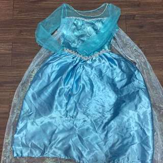 Frozen Elsa costume original from Disney store