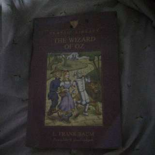 Used Wizard of Oz book