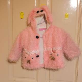 Winter Jacket lose 1button at Center.pls c on pic 4:) for baby 1y to 2y