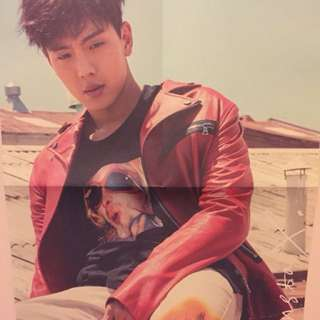 monsta x shine forever shownu poster