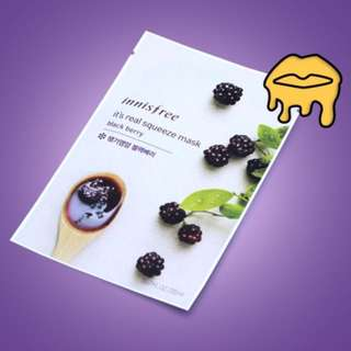 Sheet Mask lnnisfree