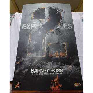 Sealed Box - The Expendables 2 - Barney Ross