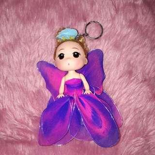 doll charm keychain