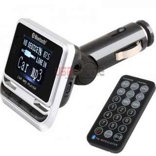 1.4inch LCD Bluetooth Car kit & MP3/FM Transmitter Remote