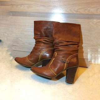 Furla Italy Leather boot
