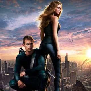 Divergent Trilogy DVD