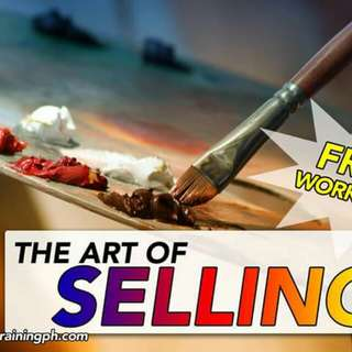 FREE ART OF SELLING WORKSHOP!