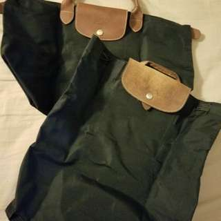 Longchamp 背包+手挽袋