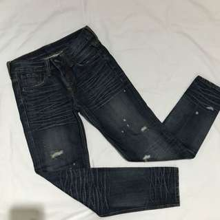 Authentic Levis 519 Skinny Jeans