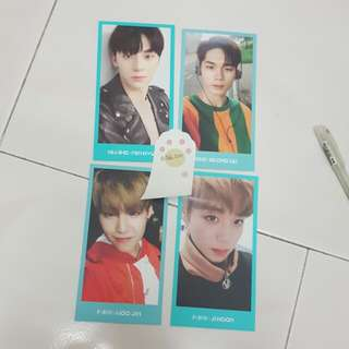 wanna one official fanclub fankit photocard