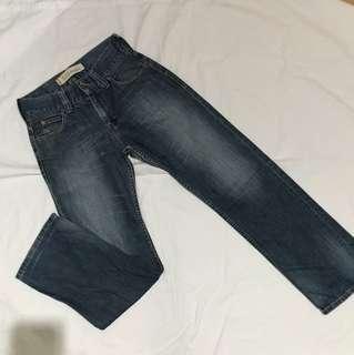 Authentic Levis 523 Straight Jeans