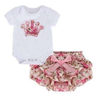 Baby Girl Romper with Tutu