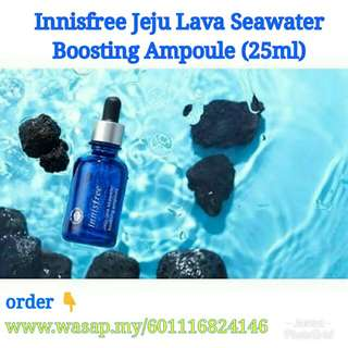 [Original Innisfree] Jeju Lava Seawater Boosting Ampoule (25ml)
