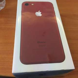 #mauJBL Iphone 7 Red Limited Edition 256GB