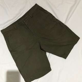H&M Military Green Shorts